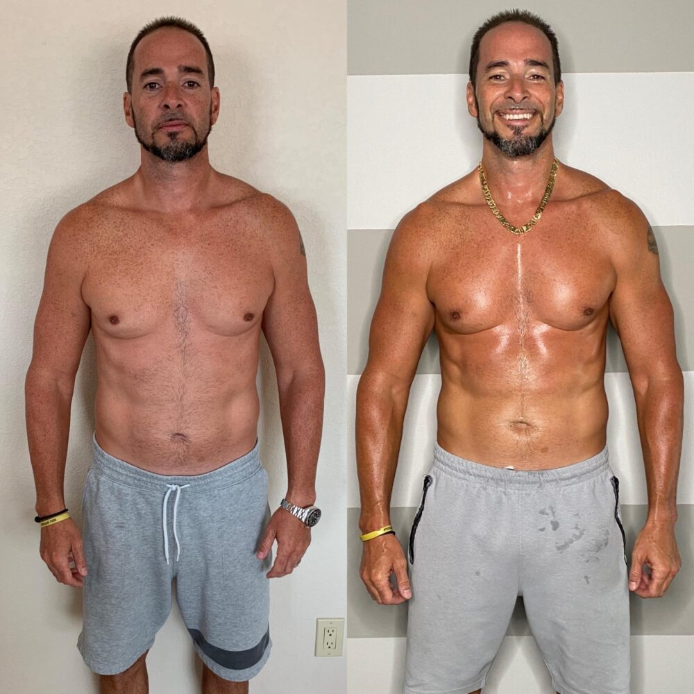 9 Week Control Freak Final Results - Men